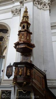 11 Pulpit inside the Church of Saints Peter and Paul