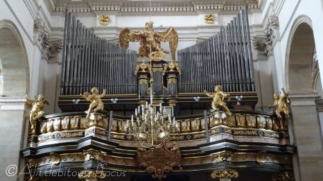12 Organ inside the Church of Saints Peter and Paul