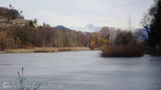 19 Frozen end of Lac de Mont d'Orge