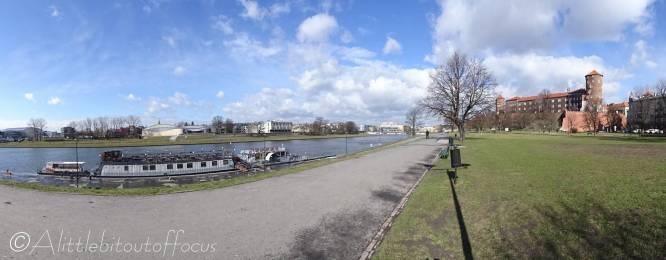 3 Riverside walk to Wawel Castle