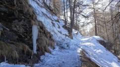 4 Fallen ice