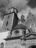 7 Wawel Cathedral architecture (b&w)