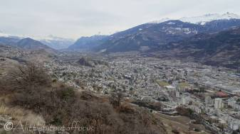 8 View South East over Sion