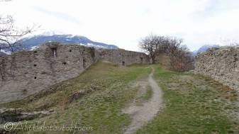 9 Inside the Chateau ruins I
