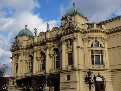 9 Juliusz Słowacki Theatre (built 1893)