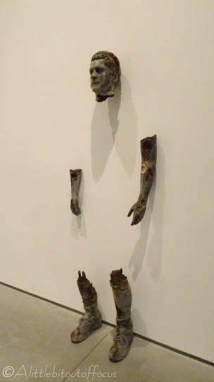 A13 Steel Broken Figure - Daniel Arsham