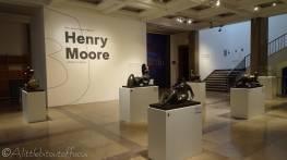 B2 Henry Moore sculptures in foyer