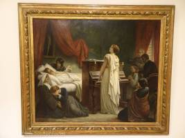 D2 Death of Frederick Chopin, 1885 - Félix-Joseph Barrias