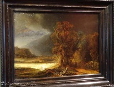 D5 Landscape with the Good Samaritan - Rembrandt