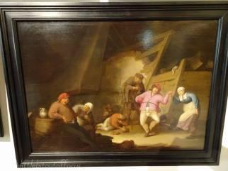 D8 A Tavern Scene - Anthonie Victoryns