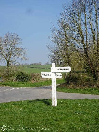 1 Signpost at the start