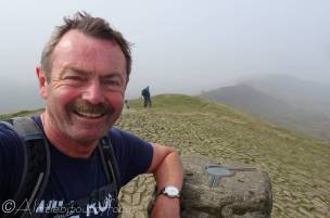10 Scruffy person on Mam Tor