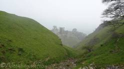 5 Peveril Castle from Cave Dale