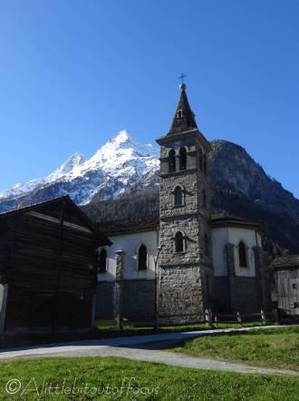 1 Les Haudères church