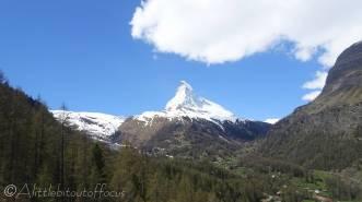 1 The Matterhorn from the train