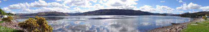 1 View across Loch Carron from Lochcarron