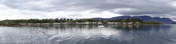 1 View of Plockton from the boat