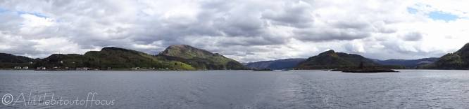 10 View of Ardaneaskan and up Loch Carron
