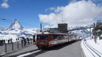 16 Gornergrat train
