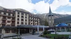 21 Zermatt hotel and church
