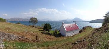 5 House with view across Loch Torridon