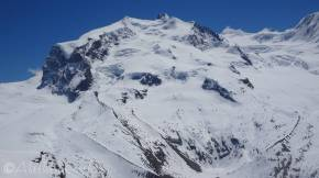 6 Monte Rosa and Hut, lower right