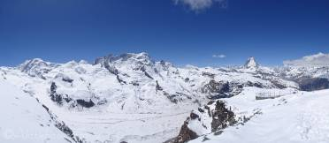 7 Liskamm, Castor and Pollux, Breithorn and Matterhorn