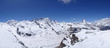 7 Liskamm, Castor and Pollux, Breithorn and Matterhorn
