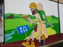 10 Mural - 112km to go