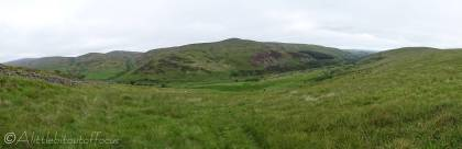 13 Panoramic view of the Harthope valley