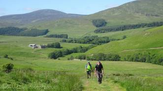 18 On the bridleway to Alnham