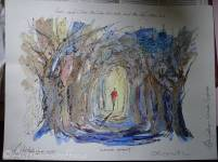 4 Camino Moment painting