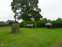9 Chatton village sign