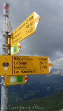 19 Col signpost