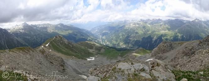 36 View south from Corne de Sorebois
