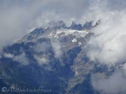 22 Distant Dents du Midi and glacier