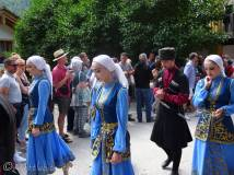 22 Traditional costumes, Mount Elbrus, Russia