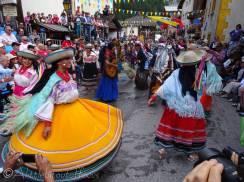 33 Chimbarazo dancers, Ecuador