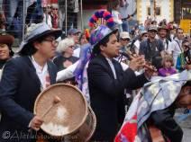 34 Chimbarazo musicians, Ecuador