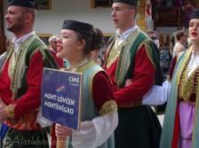 43 Mont Lovcen performers, Montenegro