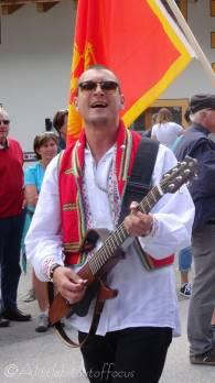 44 Mont Lovcen musician, Montenegro