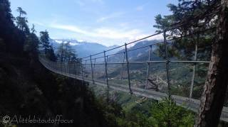 8 First of four suspension bridges
