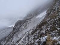 14 Scary view from the col