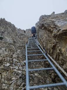 16 Descending the ladders