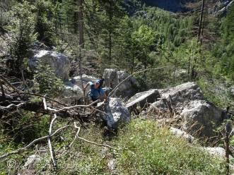 7 Overcoming the rock fall