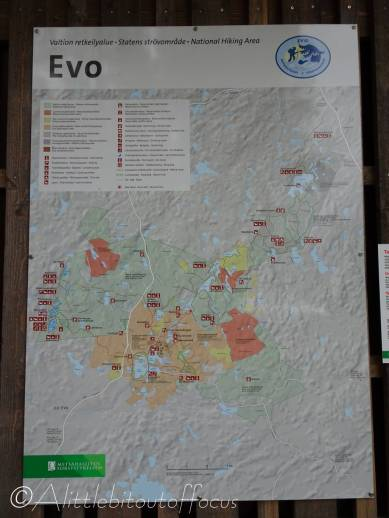 19 Evo National Park map