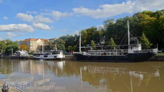 40 Riverside boats, Turku