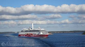 41 Viking Line ship, 'Grace'
