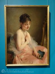 C4 The Pearl Necklace by Charles Chaplin (1870s)