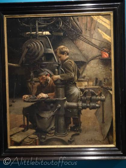 C5 In the Workshop by Eugène Buland (1888)